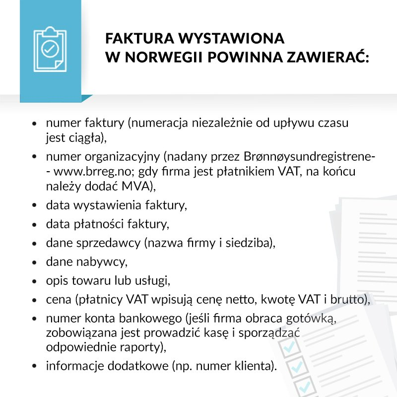 Firma W Norwegii Norweski Portal Norwegia Firma Podatki